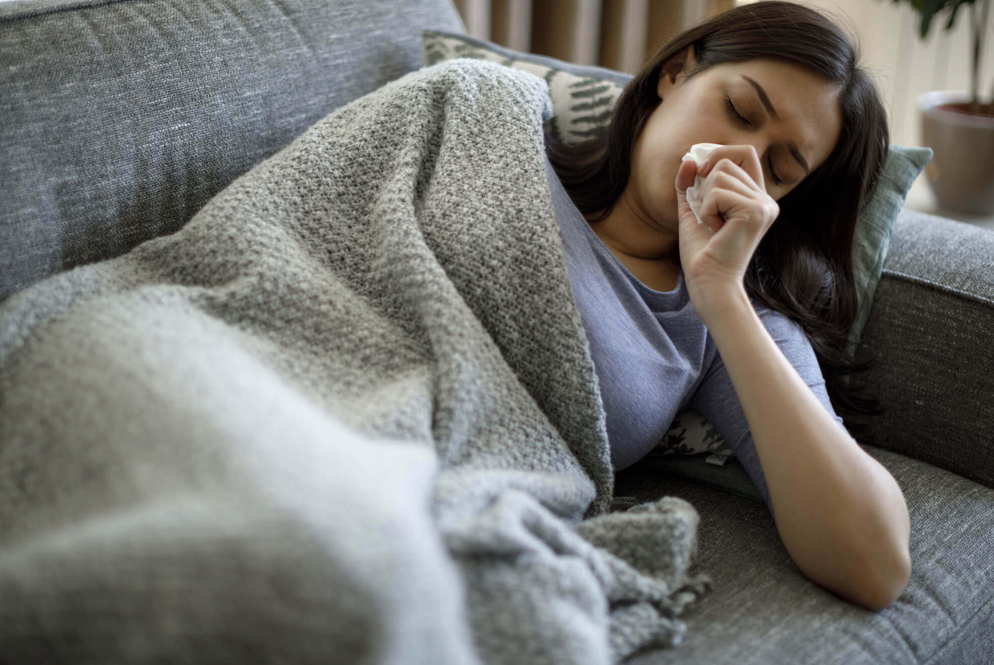 Blankets for allergies and sensitive skin